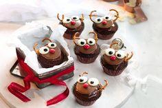 Rudolf cupcakes main image