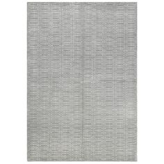 Tibetan Grey Wool & Silk Rug