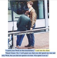 That assclown! To quote Augustus John Green Quotes, John Green Books, Fault In The Stars, Good Books, Books To Read, Tfios, Divergent, Star Quotes, Movie Quotes