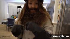 Who you fightin' beard edition Jenna And Julien, Julien Solomita, Marbles, Memes, Funny, Gifs, Queen, Random, Celebrities