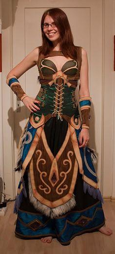 World of Warcraft cosplay druid Cosplay Outfits, Cosplay Girls, Cosplay Ideas, Druida Wow, Renaissance, Cosplay Armor, Steampunk Cosplay, Fantasy Dress, Fantasy Armor