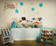 Mesa de dulces de bautizo