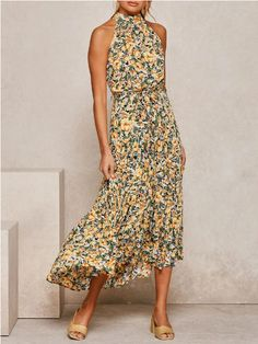 Vestido Maxi Floral, Diy Fashion, Fashion Outfits, Ladies Fashion, Conservative Outfits, Independent Women Quotes, Cheap Maxi Dresses, Fashion Collage, Kawaii Fashion
