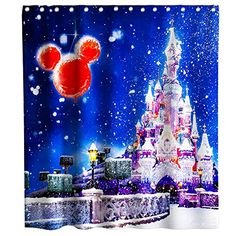 Final Friday White Blue and Red Kids Mickey Mouse Disney Shower Curtain - Shower Curtains Boutique Disney Shower Curtain, Shower Curtains, Curtain Ideas, Snow Globes, Mickey Mouse, Friday, Red, Blue, Baby Mouse