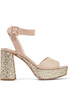 ccae90d88f28 Heel measures approximately 100mm  4 inches with a 30mm  1 inch platform  Beige patent