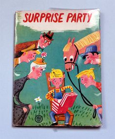 My Vintage Avenue !!! 50's and 60's illustrations !!!: Surprise Party illustrated by André Dugo in 1963 :...