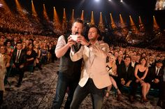 Blake Shelton and Luke Bryan: proof even celebs can look ridiculous taking selfies. See 90 more examples.
