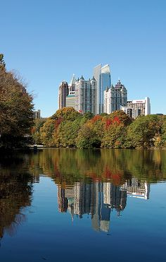 Midtown Skyline from Piedmont Park-Atlanta, GA