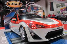 SEMA 2012 Scion FR-S AIRAID build story. From concept to reality.