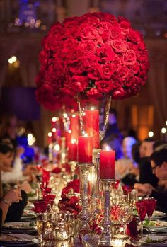 Lush fresh flowers provides the perfect setting for an enchanted, romantic wedding. Check out these 33 super chic and elegant wedding centerpieces and tell us which one do you love the most? Mod Wedding, Purple Wedding, Elegant Wedding, Wedding Table, Wedding Day, Wedding Flowers, Wedding Bouquet, Wedding Reception, Ivory Wedding
