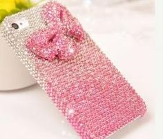 6s pluc 6c Pink bow diamond Hard Back Mobile phone Case Cover bling girly Rhinestone Case Cover for iPhone 4 4s 5 5c 5s 6 6 plus Samsung galaxy s3 s4 s5 s6 note2 3 4