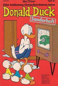 Die Tollsten Geschichten von Donald Duck 41 Donald Duck, New Ducktales, King Koopa, Looney Tunes Bugs Bunny, Jesus Painting, Daffy Duck, Retro Video Games, Walt Disney Company, Paramore