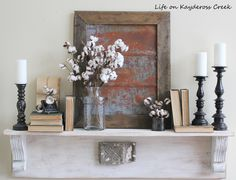 Metal Wall Decor by Life on Kaydeross Creek, featured on Funky Junk Interiors