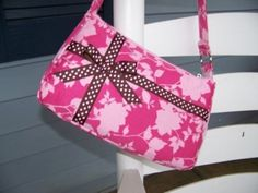 Small Easy Zipper Handbag Pdf Pattern