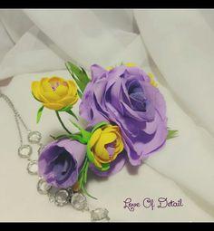 """Купить Зажим для волос с цветами """"Дыхание Весны"""" - цветы ручной работы, заколка с цветами"""