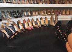 Kylie's shoe closet <3