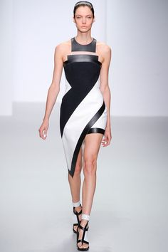 Modern Geometry - My 6 Faves From the David Koma Spring 2014 Collection