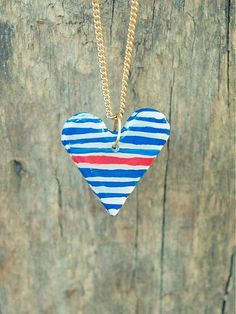 bobcek / L.O.V.E in Navy Pendant Necklace, Love, Pendants, Jewelry, Fashion, Dinner, Colors, Amor, Jewellery Making