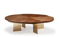 Tsuba Table – Metal Base Amy Somerville
