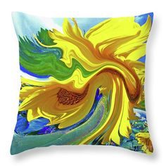 Sunflower Swirl...Bright yellow swirling sunflower against the backdrop of a blue summer sky #catchavista#faa#fineartamerica#sunflower#flower#yellow#summer#redbubble#society6