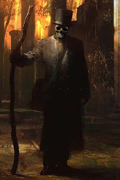 Baron Samedi (Sagbata alias Lord of the Dead) (African Voodoo God) (Haiti)…