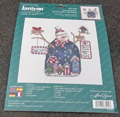 Janlynn Counted Cross Stitch Kit 83-202 by Fraservalleyjewels