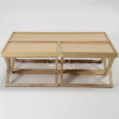tables basses bois akina