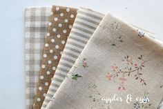 Memories of Springtime Cotton-Linen
