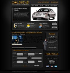 Looking for an #extraordinarysedanexperience? Goldstar Executive Transportation Services has custom-built cars that have generous leg room, offering first class comfort and luxury for their passengers. Whether you are on your way to an airport or a party, Goldstar Executive Transportation Services can give you the ride of a lifetime.  For more custom #webdesigns visit us at www.customadesign.com