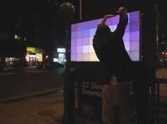 The Pixelator Project by Jason Eppink.  Making the world a more beautiful place with the help of technology.