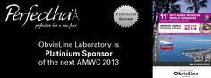 ObvieLine Laboratory would be the Platinium Sponsor of AMWC Monaco 2013