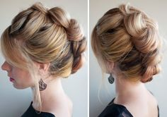 Rock a faux hawk with this braid.