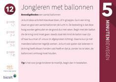 Energizer: 5 minuten Bewegen - Jongleren met balonnen