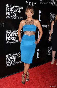 A 49 ans, Halle Berry affiche une silhouette superbe et un visage lumineux.