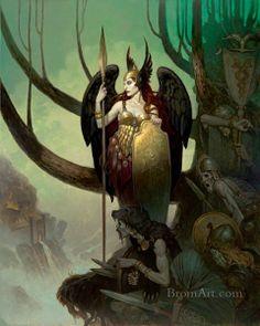 Brom ~ The Last Valkyrie