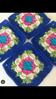 SOPHIE'S UNIVERSE - Free On Ravelry Crochet Mandala, Manta Crochet, Crochet Yarn, Baby Blanket Crochet, Crochet Crafts, Crochet Granny, Crochet Motif, Crochet Flowers, Love Crochet