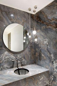 FOR THE HOME || Marble bathroom wall inspiration || NOVELA BRIDE...where the modern romantics play & plan the most stylish weddings... www.novelabride.com (instagram: @novelabride) #novelabride #jointheclique