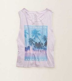 Aerie Made In The USA Graphic Tank -  Made with love. Made in the USA! #Aerie