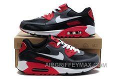 Hot Nike Air Max 90 Mens Red Black Black Friday Deals 2016 XMS1820  fc1abea0f915
