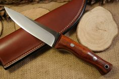 Custom Bushcraft Knife - Tradesman model - Ironwood - Customize your own knife…
