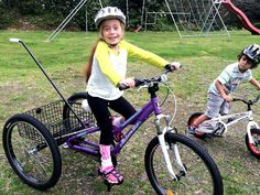 Ellie Jones has spent the past few years trying to keep up with others around her - now she can, with her new trike. - Bay of Plenty Times