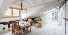 Una buhardilla convertida en un auténtico hogar