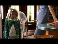 Mad Men - Sally gets in trouble for playing with the dry cleaning bag
