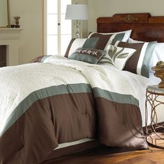 Take a look at this Crestwood Embroidered Comforter Set by Colonial Home Textiles on today! Home Collections, Comforter Sets, Comforters, Home Textile, Down Comforter, Home, Bedroom Decor, King Size Comforter Sets, Luxury Comforter Sets