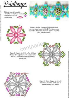 Free tutorial! :-)  petula1braceletvignette