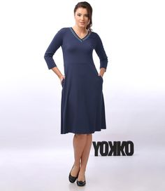 SMILE dress YOKKO | fall16 #dress #casual #nice #yokko #women #daytime