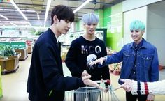 Join the boys of VAV as they go shopping in preparation for a MT after