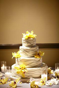 Yellow themed wedding.  www.mikiandsonja.com