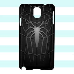 The Amazing Spiderman Logo Black Samsung Galaxy Note 3 Case Cover