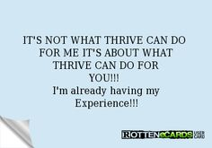 Thrive by Le-Vel  Discomfort Management  Weight Management  Digestive Support  Immune Support  Joint Support  Lean Muscle Support  Anti-Aging Support  Cognitive Performance  Long-Lasting Energy  Mental Clarity http://kellyhewat.le-vel.com/experience